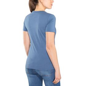Schöffel Zug2 Bluzka z krótkim rękawem Kobiety niebieski